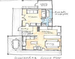 Chalet Floor Plan Lacmontagne Properties