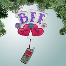 electronics ornaments bff personalized free