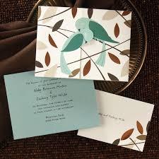 bird wedding invitations copper foil bird wedding invitations flamingo