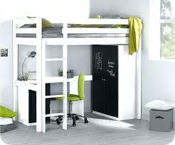 lit enfant mezzanine avec bureau lit mezzanine avec bureau et armoire lit mezzanine avec armoire et