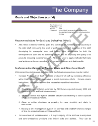 business assessment report template sle2 report business assessment