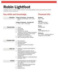 Resume Templates For Retail Free Ats Applicant Tracking System Optimized Resume Templates