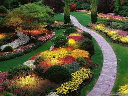Beautiful Garden Images A Beautiful Garden Complete With A Winding Path Perfectly