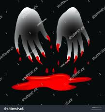 claws halloween halloween sign spooky 3d hands bloody stock illustration 6011116