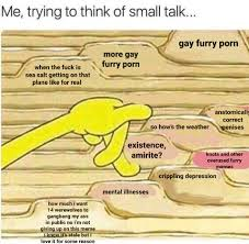 Small Talk Meme - small talk 2 spongebob filing know your meme