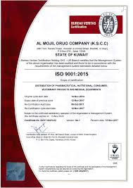 formation bureau veritas almojil drugs company suppliers in kuwait pharma