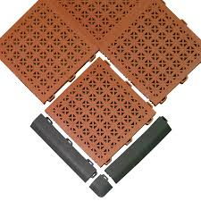 home gym floor tile aerobic staylock orange peel