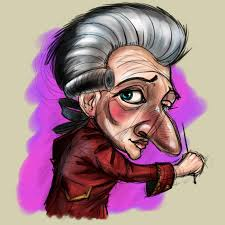 caricatures by mike clarida at coroflot com