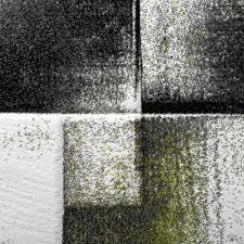 Wohnzimmer Schwarz Weis Grun Designer Teppich Wohnzimmer Teppiche Kurzflor Meliert Grün Grau