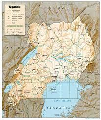 Rwanda Map Rwanda City Map