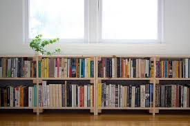 Small Two Shelf Bookcase Perfect Cool Simple Nice Compact Under Window Bookcase With Small