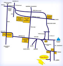 antipolo map maps directions bosay resort
