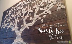 the paisley pickle family tree wall