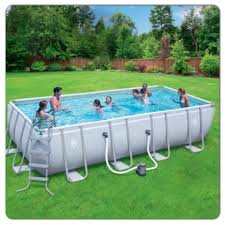 Intex Metal Frame Swimming Pools Coleman 18x9x48 Rectangle Pool Pool Pinterest Rectangle Pool