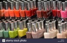 illustration an illustrated picture shows nail polish of the