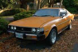 toyota old cars old parked cars 1977 toyota celica gt