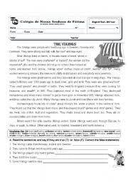 english teaching worksheets vikings