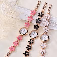 crystal gold bracelet images Luxury crystal gold quartz wrist watch for women alizbay canada jpg