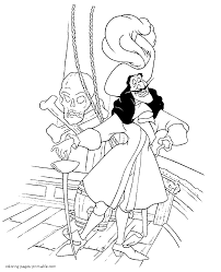 disney villains coloring pages for kids