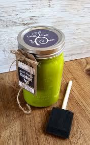 handmade chalkboard paint green green home decor lime green