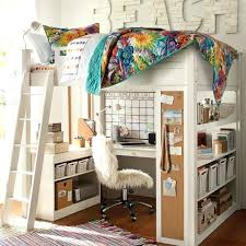 girls loft bed with a desk and vanity girls loft bed with desk konzertsommer info