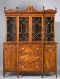 gentleman 39 s federal mahogany and mahogany veneer inlaid glazed gentleman s