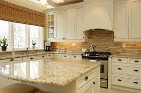 Fine Kitchen Backsplash White Cabinets Ideas Pictures Of Kitchens - Kitchen backsplash white cabinets