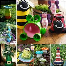 Craft Ideas For The Garden Creative Ideas Diy Terracotta Turtle Garden Decors Terra Cotta