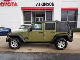jeep rubicon green 2013 commando green jeep wrangler unlimited suvs theeagle com