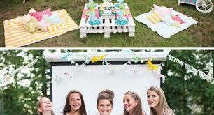 Backyard Birthday Decoration Ideas Backyard Birthday Party Ideas For Teens 30 Cute Teenage Girl