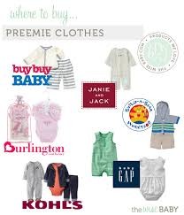 burlington baby department where to buy preemie clothes the wise baby