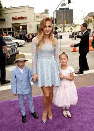 Home Jennifer Lopez by Jennifer Lopez With Her Twins At U0027 U0027home U0027 U0027 Premiere Celebzz Celebzz