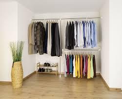 Wardrobe Storage Systems Wardrobe Clothes Garment Organiser Closet Extendable Hanging Rail