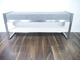 stainless hall bench dean cloutier industrial design