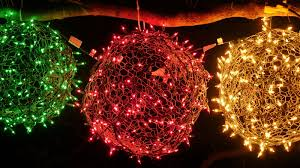 Outdoor Lighted Balls by How To Make Your Own Holiday Light Balls Cnet