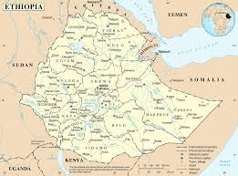 Define Political Map Ethiopia Map Blank Political Ethiopia Map With Cities