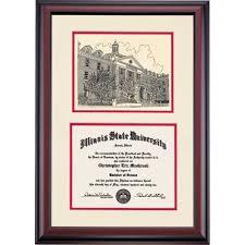 of illinois diploma frame illinois state diploma frames diploma display ocm