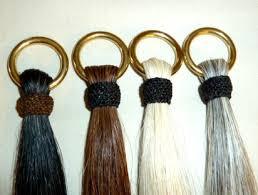 shoo fly shu fly hair equestrian gifts horsehair tassels