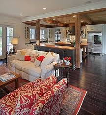 easy open floor plan kitchen and living room about interior home