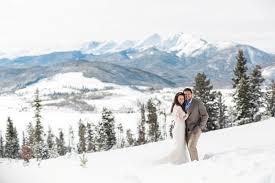 weddings in colorado colorado winter weddings get married in the snow