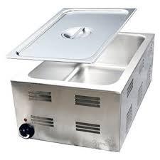 Amazon Com 4 Pan Buffet Bain Marie Food Warmer Steam Table 1500w