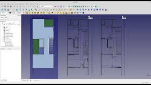 freecad arch generating floor plans from sectionplane youtube