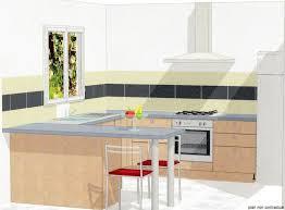 plan de cuisine en u plan de cuisine en u plan cuisine en l avec ilot idee peinture