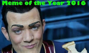 Meme Pic - why robbie rotten s we are number one was named meme of the year
