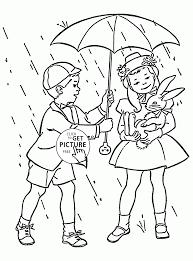 rainy season drawing for kids kids coloring europe travel