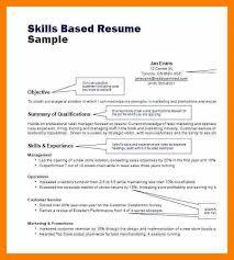 sample skills based resume download skill based resume