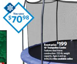 trampolines on sale for black friday 15 inch trampoline combo at sam u0027s club blackfriday sale