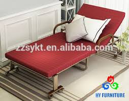 Rollaway Metal Frame Guest Folding Sofa Cot Bed With Memory Foam