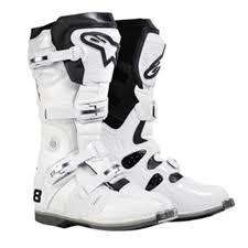 alpinestars tech 8 light boots alpinestars tech 8 light boot white cully s yamaha