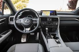 lexus rx 350 manual 2016 lexus rx 350 f sport first test review best seat in the
